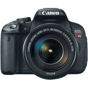 Canon Rebel T4i - Best Camera with Flip Screen