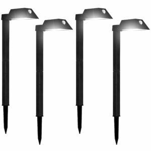 110 Lumens Morvat LED Outdoor Motion Sensing Solar Path Lights