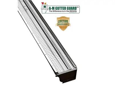 Aluminum Gutter Guard by A-M Aluminum